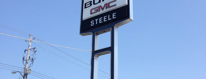 Steele Chev Buick GMC Cadillac is one of Nicole's Liked Places.