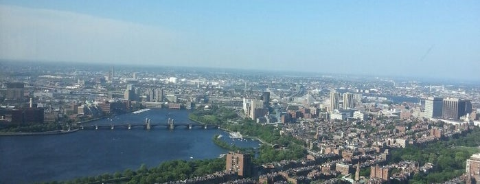 Skywalk Observatory is one of Boston to visit.