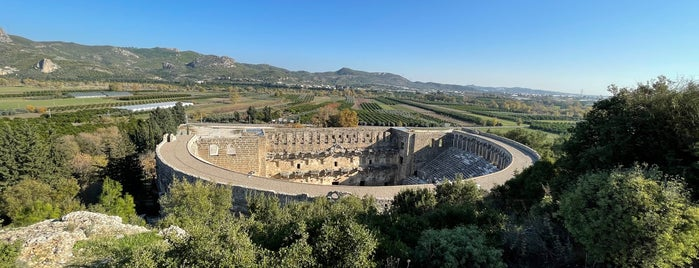 Aspendos Antik Kenti is one of ANCIENT LOCATIONS IN TURKEY.