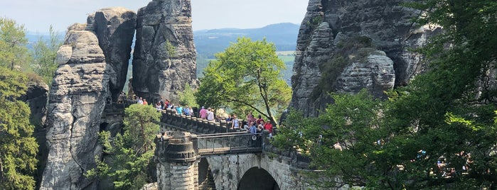 Basteibrücke is one of Locais curtidos por V͜͡l͜͡a͜͡d͜͡y͜͡S͜͡l͜͡a͜͡v͜͡a͜͡.
