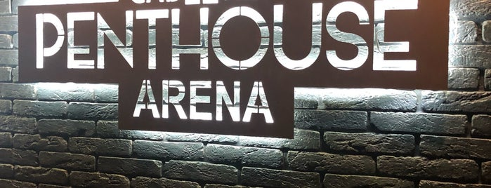 Penthouse Arena is one of Man's clubs.