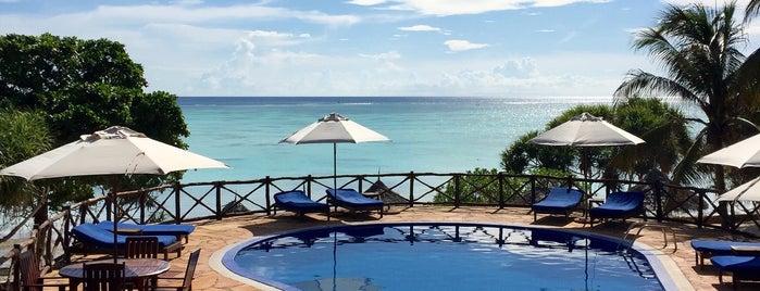 Ras Nungwi Beach Hotel is one of Lieux qui ont plu à V͜͡l͜͡a͜͡d͜͡y͜͡S͜͡l͜͡a͜͡v͜͡a͜͡.