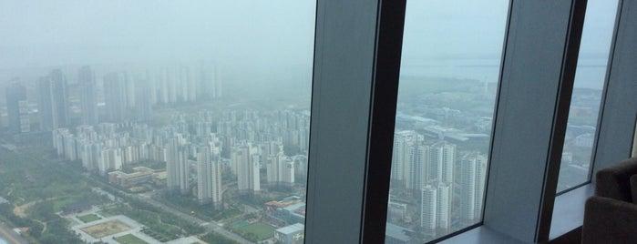 Oakwood Premier Incheon is one of world best hotels.