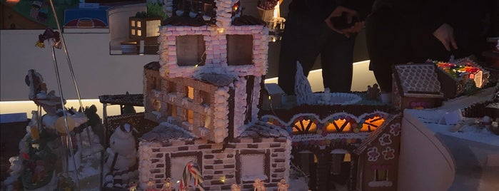 Gingerbread City is one of London.