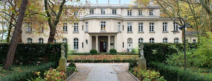 Haus der Wannsee-Konferenz | House of the Wannsee Conference is one of Berlin.
