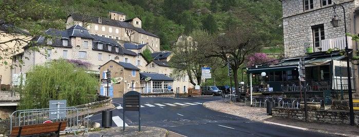 Sainte-Enimie is one of Les plus beaux villages de France.