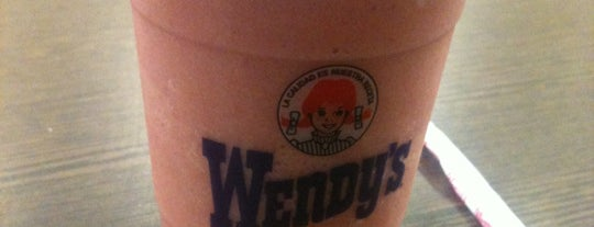 Wendy's is one of Comí en:.