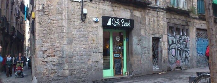 Café Babel is one of Barcelona Alternative Route.