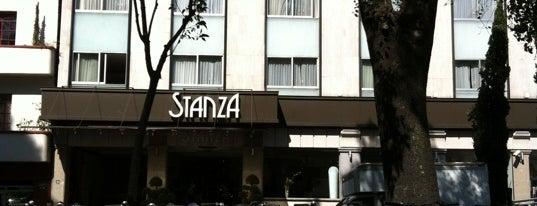 Stanza is one of Alex'in Kaydettiği Mekanlar.