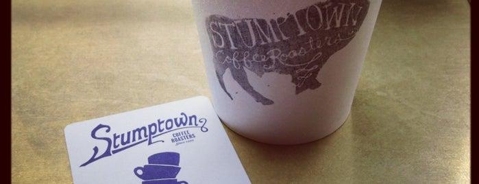 Stumptown Coffee Roasters is one of Legitimate Espresso & Coffee.