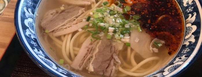 Jinweide Beef Noodles is one of 東京ココに行く! Vol.42.