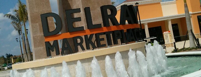Delray Marketplace is one of Off-Campus Hot Spots.