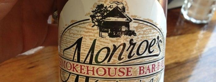 Monroes Smokehouse is one of สถานที่ที่บันทึกไว้ของ Todd.