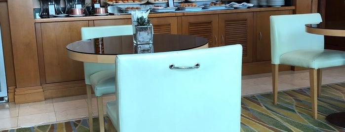 Executive Lounge @ Hilton is one of Hoteis.