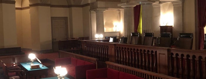 Old Supreme Court Chamber is one of Norpie & Tim's DC Tour.