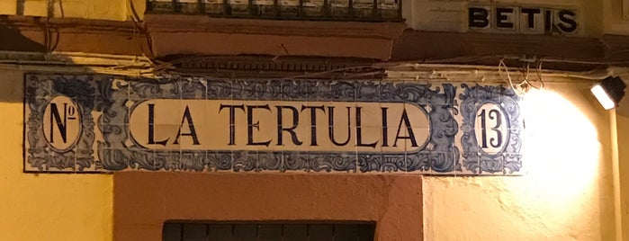 La Tertulia is one of Provincia de Sevilla.