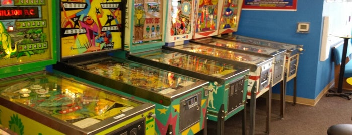 Seattle Pinball Museum is one of SEA NYE.