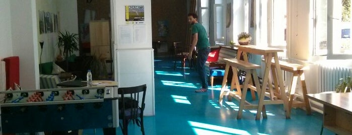 betahaus is one of Dog friendly places in Sofia.
