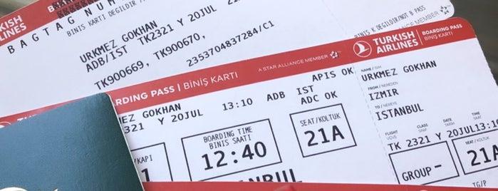 Türk Hava Yolları BOEING777- 300 ER is one of Birbahar'ın Beğendiği Mekanlar.