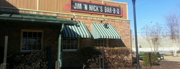 Jim 'N Nick's Bar-B-Q is one of Taste of Atlanta 2012.