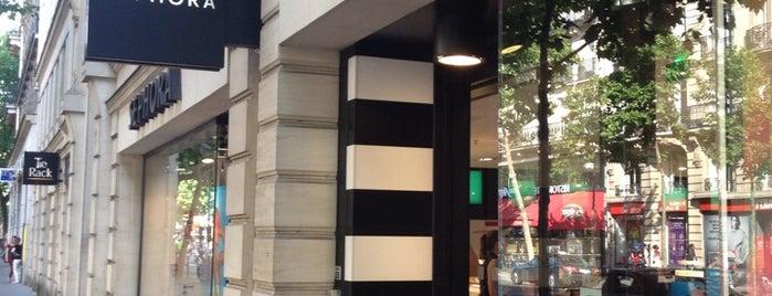 Sephora is one of Paris.