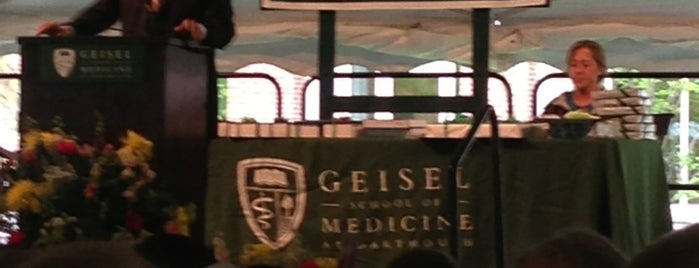 Geisel School of Medicine at Dartmouth is one of Inspired locations of learning 2.