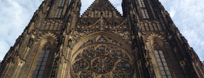 Katedrála sv. Víta | Saint Vitus' Cathedral is one of Praha | Prague.