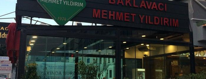 Baklavacı Mehmet Yıldırım is one of Istanbul.