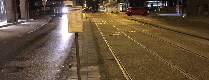 Tramhalte Keizersgracht is one of Amsterdam footprints.