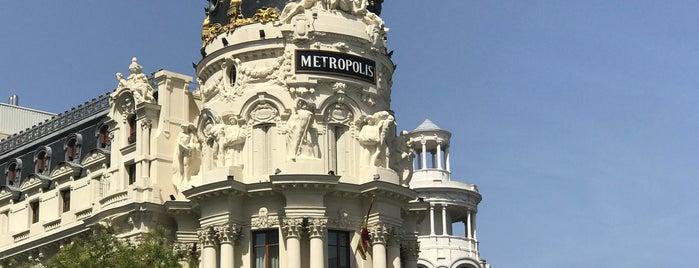 Metropolis Center is one of Ruta friki Madrid.