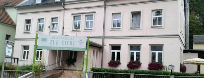 Gasthaus Zur Eiche is one of Orte, die Sarah gefallen.