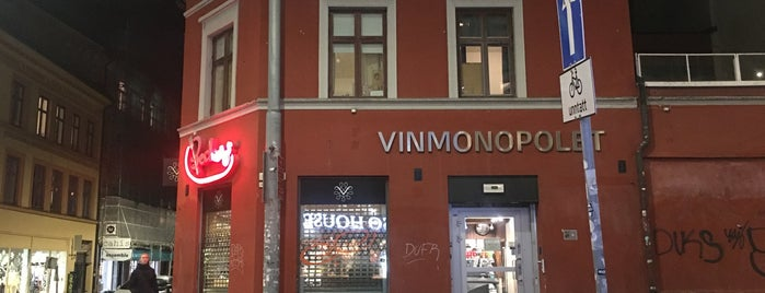 Vinmonopolet (Grünerløkka) is one of ossslo.