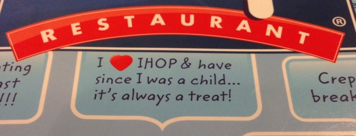 IHOP is one of Lieux qui ont plu à Stephanie.
