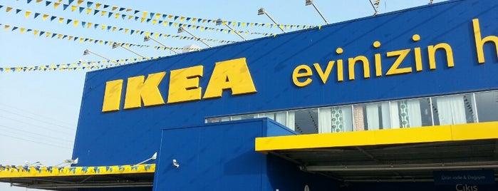 IKEA is one of * GİDİYORUZ :)).