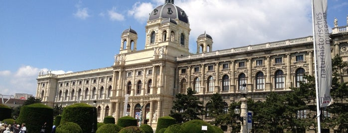Naturhistorisches Museum is one of Viennese Christmas Markets.