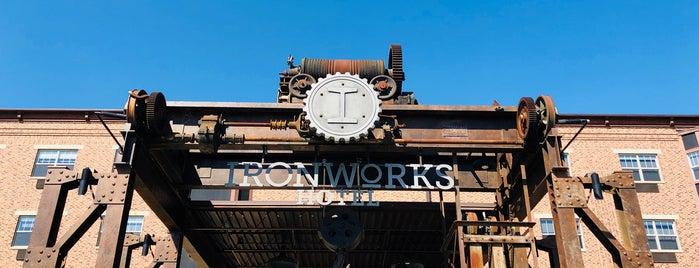 Ironworks Hotel is one of R 님이 좋아한 장소.