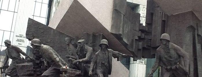 Monumento al Alzamiento de Varsovia is one of tredozio.