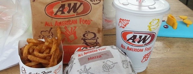 A&W Restaurant is one of Nanda's All Favorite♥♚.