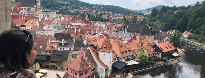 Běžecká stezka Český Krumlov is one of Posti che sono piaciuti a serhan.