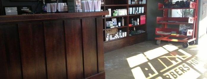 Rudy's Barbershop is one of Los Angeles.