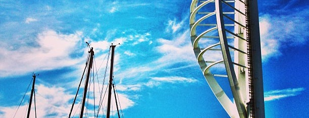 Emirates Spinnaker Tower is one of Portsmouth.