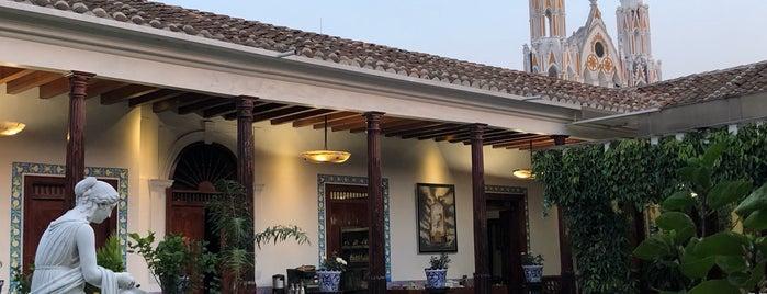 Hotel La Casa del Marqués de Comillas is one of Comitan.