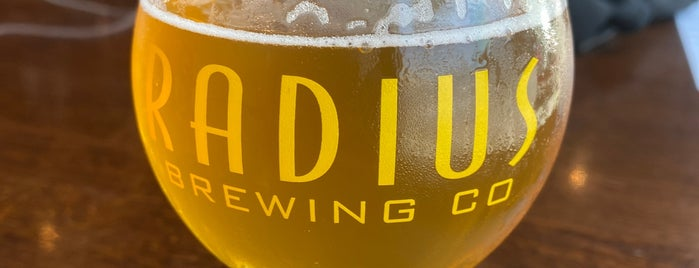 Radius Brewing Company is one of Find the Source.