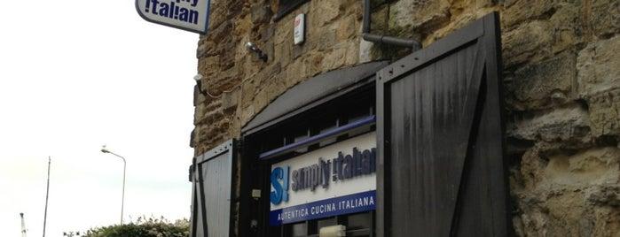 Simply Italian is one of Lugares favoritos de Dominic.