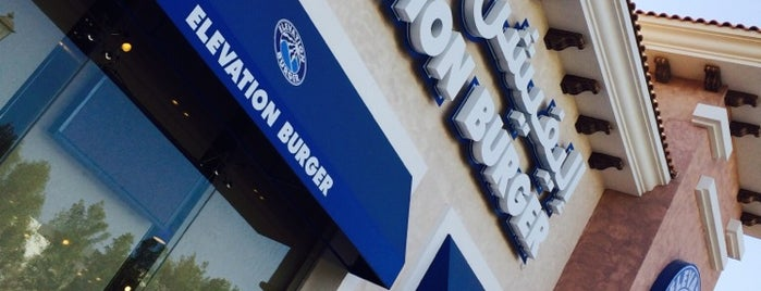 Elevation Burger is one of Sharqia.