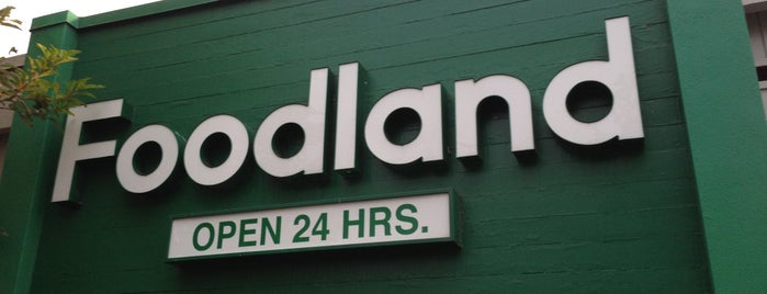 Foodland is one of Honolulu Recommendations.