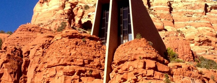 Chapel of the Holy Cross is one of Sedona.