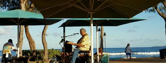 Lava Lava Beach Club is one of Kauai, HI.