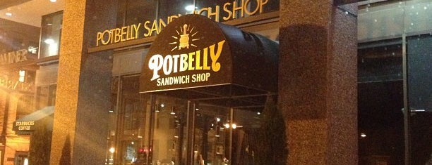 Potbelly Sandwich Shop is one of D.C..