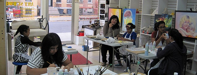 BM Pottery Studio NY is one of USA NYC BK Bushwick.